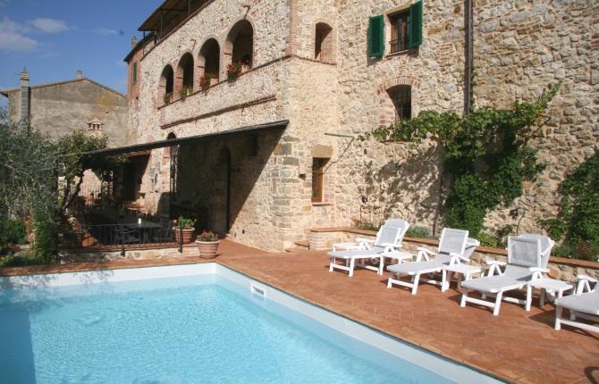 Trequanda Italy  City new picture : La Casa dei Fiordalisi in Trequanda, Tuscany, Italy