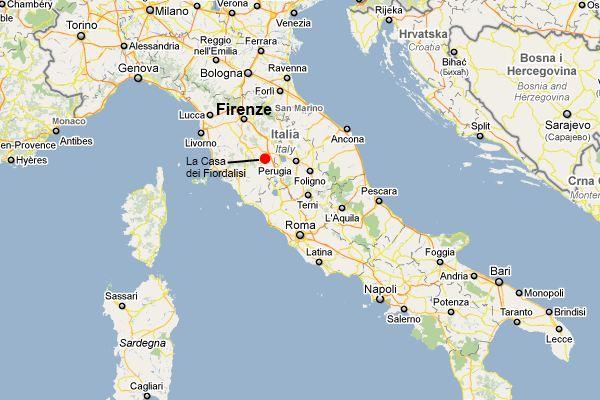 La Casa dei Fiordalisi in Trequanda Tuscany Italy